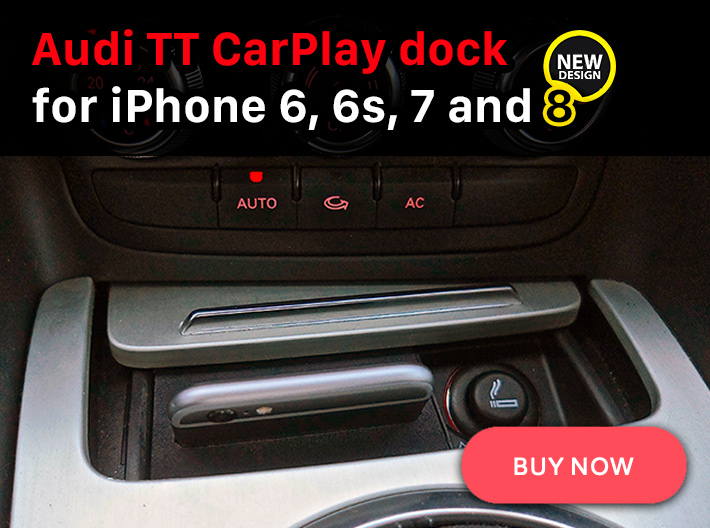 VWVortexcom Installing Alpine ILX CarPlay Head Unit Into - Audi iphone 6 car mount